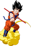 Goku Flying PNG